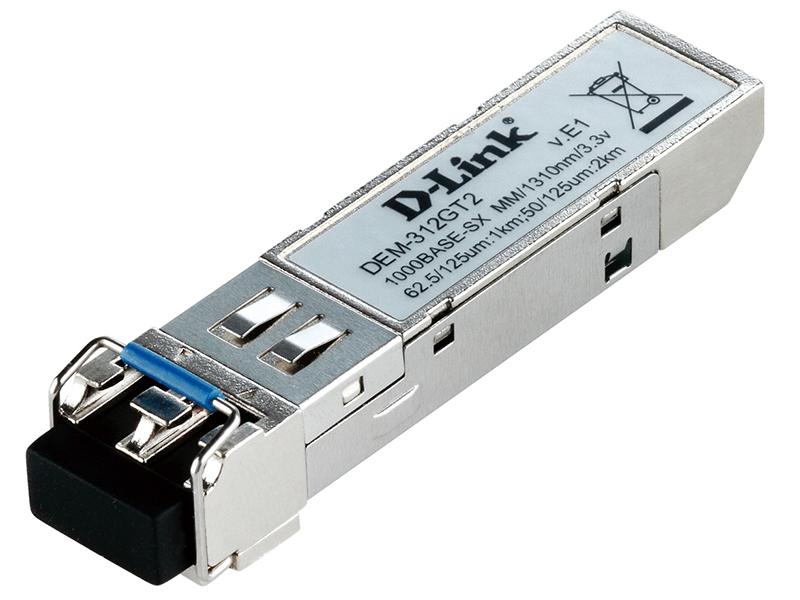 Модуль D-Link DEM-312GT2/E1A Модуль SFP с 1 портом 1000Base-SX+ для многомодового оптического кабеля, питание 3,3В (до 2 км) высоковольтный тиристорный модуль втм 1000