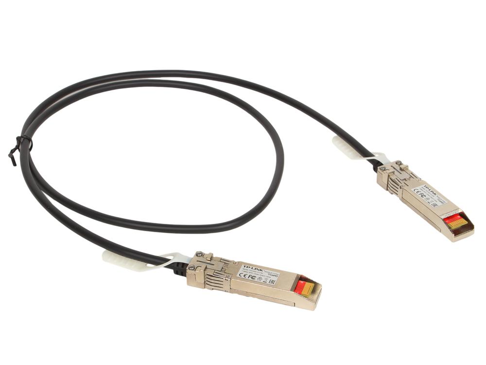 Кабель соединительный TP-Link TXC432-CU1M 1-метровый SFP+ кабель прямого подключения цена