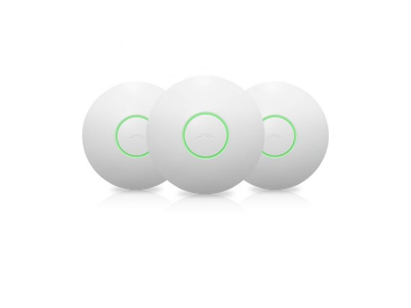 Точка доступа Ubiquiti UAP-3 UniFi AP 802.11n 300Mbps 2.4GHz 20dBM 1x100Mbps LAN комплект из 3 шт ubiquiti erlite 3