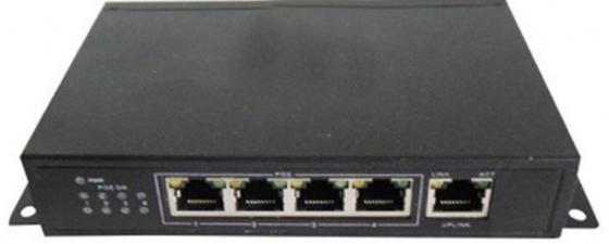 IVUE PS5-4. 5-ти портовый свитч, 4 порта PoE ivue d5004 ahc d2 для дома и офиса 4 2 комплект видеонаблюдения