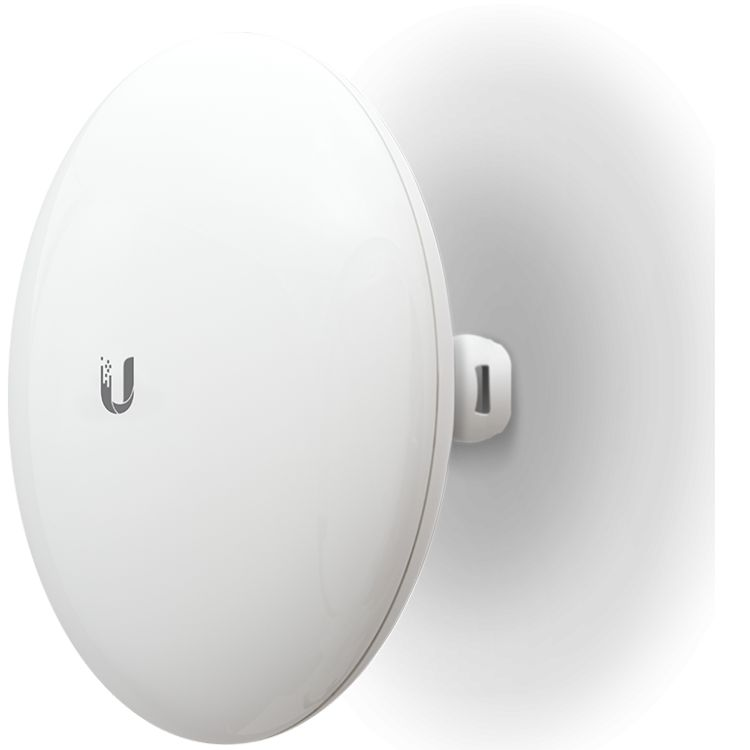 Беспроводная точка доступа Wi-Fi Ubiquiti NBE-M5-19 802.11an, 150Mbps, 5GHz, 1xLAN, PoE беспроводная точка доступа mikrotik rbmapl 2nd map lite with 650mhz cpu 64mb ram 1xlan built in dual chain 2 4ghz 802 11bgn dual chain wireless with integrated