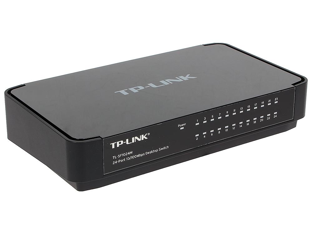 Коммутатор TP-LINK TL-SF1024M 24-портовый 10/100 Мбит/с настольный коммутатор