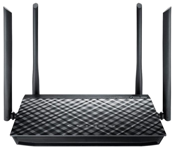 Маршрутизатор ASUS RT-AC1200G+ Двухдиапазонный маршрутизатор с поддержкой Wi-Fi 802.11ac 1167 Мбит/с