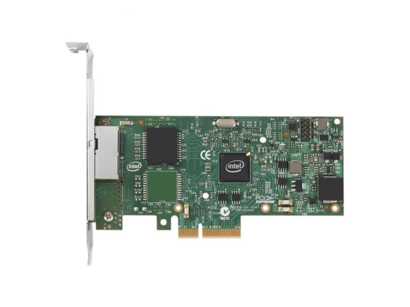 Сетевой адаптер Intel PCIE 1GB I350T2V2BLK (936714) адаптер dell 540 bbds i350 qp 1gb full height