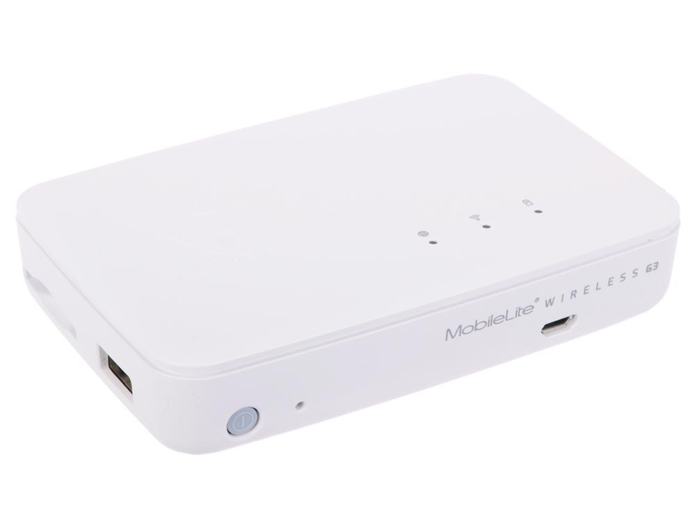 Картридер Kingston MobileLite Wireless G3 USB 2.0/Wi-Fi Внешний картридер, 5400 мАч (MLWG3)