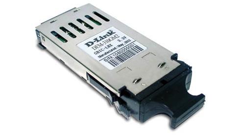 Модуль D-Link DEM-310GM2 GBIC-трансивер с 1 портом 1000Base-SX для многомодового оптического кабеля (до 2 км) цена