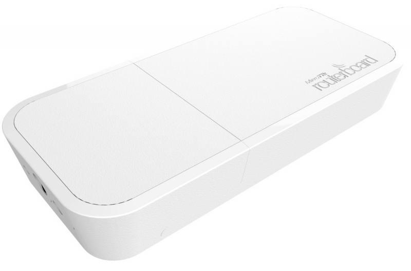 Точка доступа MikroTik RBwAPG-5HacT2HnD wAP АС 802.11ac 2.4ГГц и 5ГГц белый точка доступа level one wap 6012