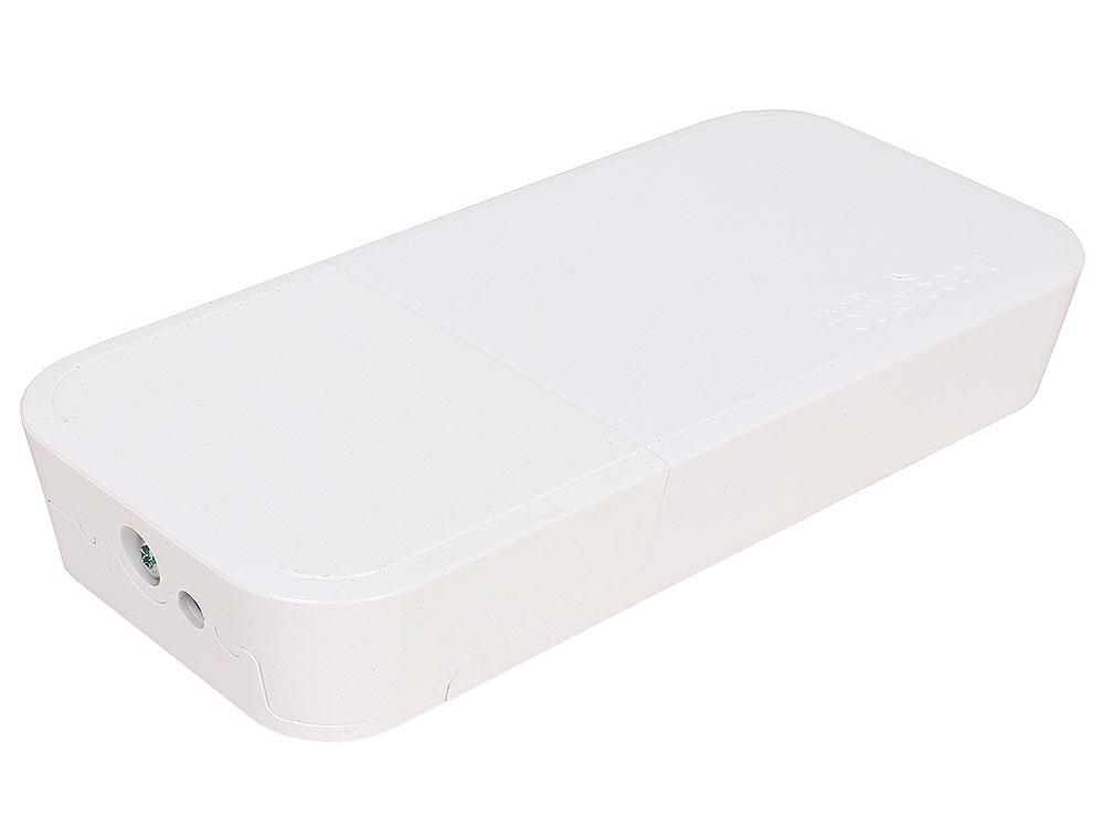 Точка доступа MikroTik RBwAP2nD wAP 802.11n 300Mbps 2.4ГГц белый