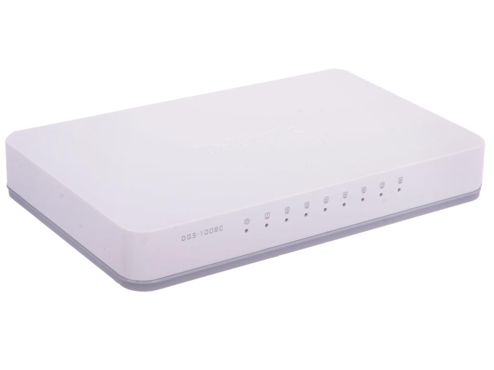 Коммутатор D-Link DGS-1008C/A1A Неуправляемый коммутатор с 8 портами 10/100/1000Base-T, функцией энергосбережения и поддержкой QoS коммутатор d link dgs 1008c a1a неуправляемый коммутатор с 8 портами 10 100 1000base t функцией энергосбережения и поддержкой qos
