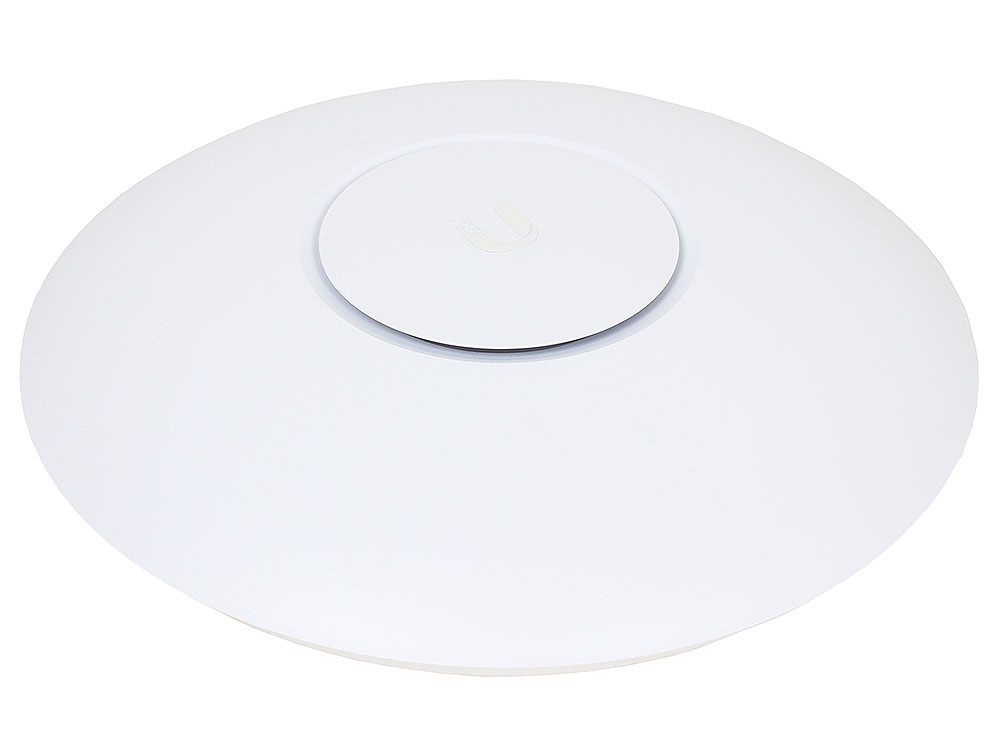 Точка доступа Ubiquiti  UAP-AC-PRO UniFi AP AC Pro 802.11ac 1750Mbps 2.4 и 5GHz 30dBM 2x1000Mbps LAN Weatherproof (indoor/outdoor) 196.7x35 mm