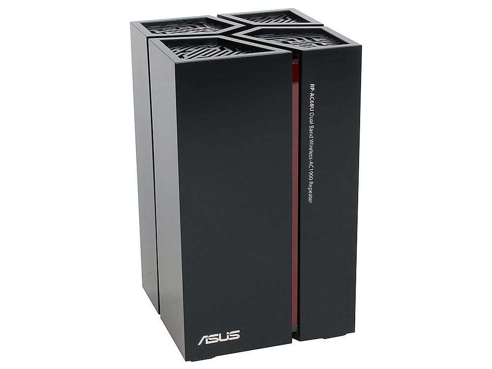 Усилитель Wi-Fi сигнала ASUS RP-AC68U Беспроводной повторитель стандарта Wi-Fi 802.11ac 1900 Мбит/с