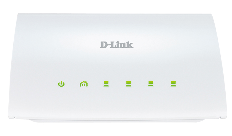 Адаптер PowerLine D-Link DHP-346AV/A1A PowerLine-коммутатор с поддержкой HomePlug AV