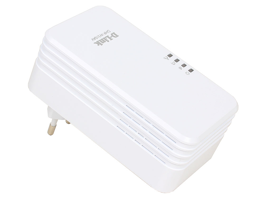 Адаптер PowerLine D-Link  DHP-W310AV/B1A Беспроводной PowerLine-адаптер N300 с поддержкой HomePlug AV