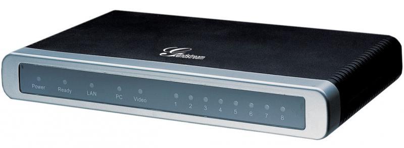 Шлюз VoIP Grandstream GXW-4108 8xFXO 2xEthernet 10/100Мб/с