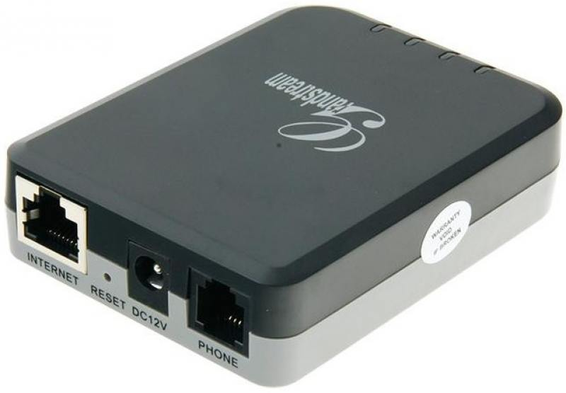 Шлюз VoIP Grandstream HT701 1xFXS 1xLAN 10/100Мб/с SIP БП