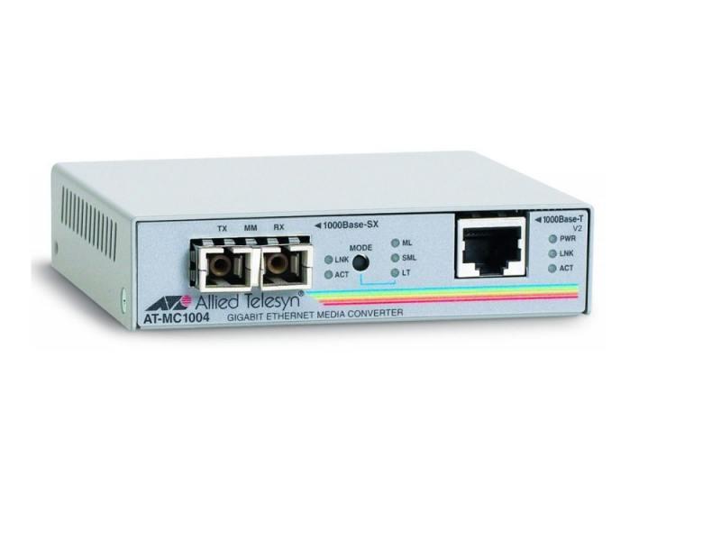 Медиаконвертер Allied Telesis AT-MC1004-yy 1000BaseSX/SC to 1000BaseT