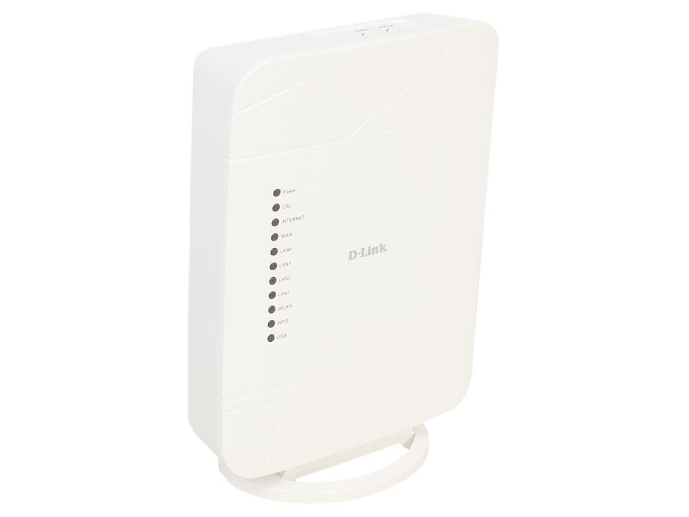 Маршрутизатор D-Link DSL-G225/U1A Беспроводной маршрутизатор VDSL2 с поддержкой ADSL2+/3G/Gigabit Ethernet WAN и USB-портом