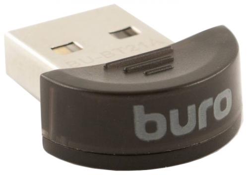 Картинка для Адаптер USB Buro BU-BT21A Bluetooth 2.1+EDR class 2 10м черный