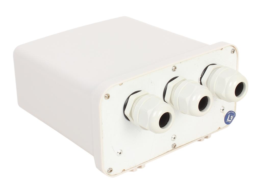 Адаптер PoE LevelOne POR-1102 Уличный 2-поротовый PoE-повторитель адаптер poe levelone pos 1001 гигабитный poe сплиттер с переключателем на 5v 9v и 12v