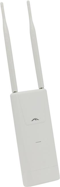 Точка доступа Ubiquiti UAP-OUTDOOR+ UniFi Outdoor PoE Access Point (2UTP 10/100Mbps, 802.11b/g/n, 300Mbps, 2x5dB)