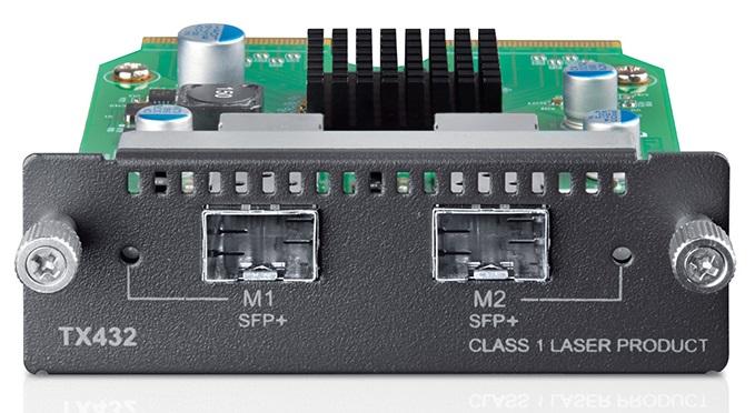 Модуль SFP TP-LINK TX432 10-гигабитный 2-портовый модуль SFP+