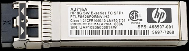Трансивер HP C8S75A 1Gb RJ-45 iSCSI SFP 4 Pk for MSA2040 only C8R14A C8R15A C8R09A