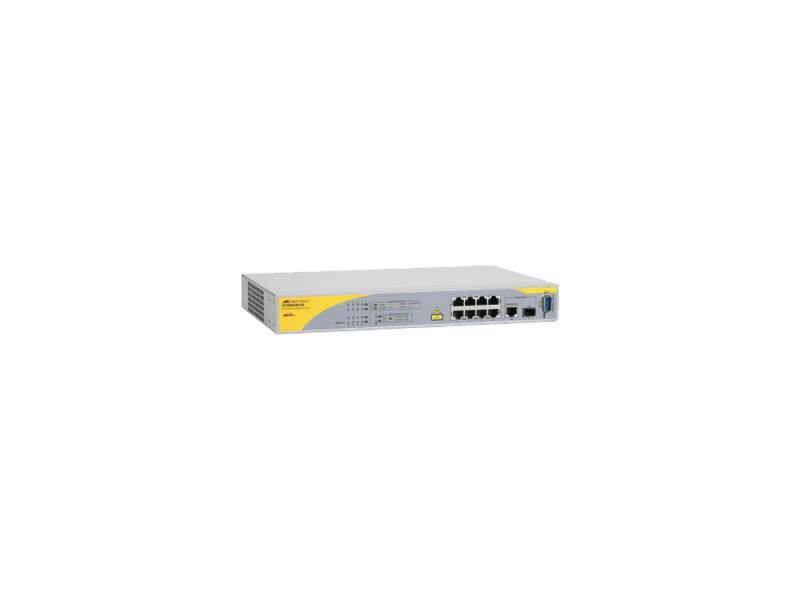 Коммутатор Allied Telesis AT-8000/8POE управляемый 8 портов 10/100/1000Mbps SFP Combo коммутатор cisco sg200 50 48 портов 10 100 1000mbps 2x combo gblan sfp slm2048t eu