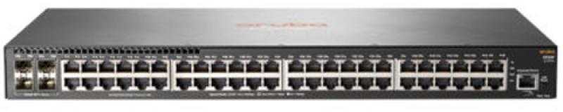 Коммутатор HP Aruba 2930F Switch управляемый 48 портов 10/100/1000Mbps + 4 SFP JL254