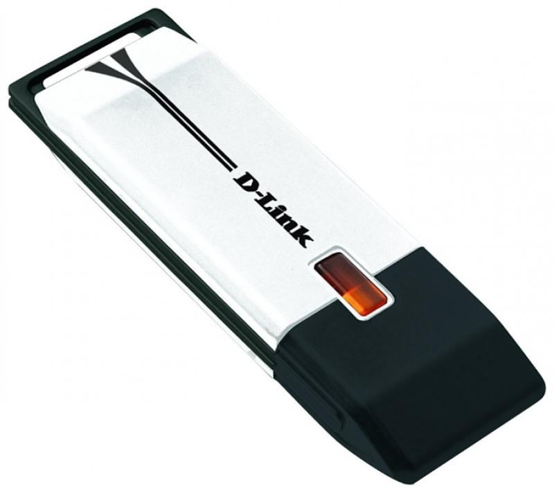 Беспроводной USB адаптер D-LINK DWA-160/C1B 802.11n 300Mbps 2.4 или 5ГГц wi fi адаптер d link dwa 131 e1a