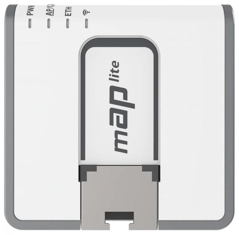 Беспроводной маршрутизатор MikroTik RBmAP2nD 802.11n 300Mbps 2.4 ГГц -1xLAN PoE белый маршрутизатор mikrotik rbcap2n 802 11bgn 100mbps 2 4 ггц 1xlan белый