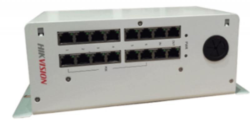 Коммутатор Hikvision DS-KAD612 16 портов коммутатор hikvision ds 3d2208p