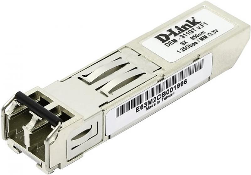 Трансивер сетевой D-Link 1-port mini-GBIC SX Multi-mode Fiber Transceiver up to 550m support 3.3V po