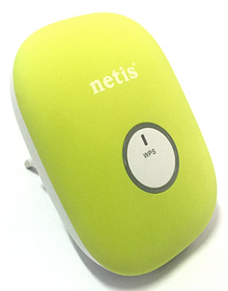 Ретранслятор Netis E1+ 802.11bgn 300Mbps 2.4 ГГц 0xLAN зеленый