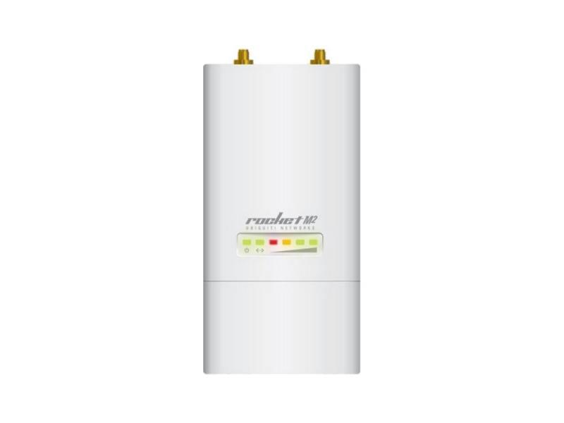 Точка доступа Ubiquiti RocKet M2 802.11n 150Mbps 2.4GHz 2xRP-SMA RocketM2(EU) цена