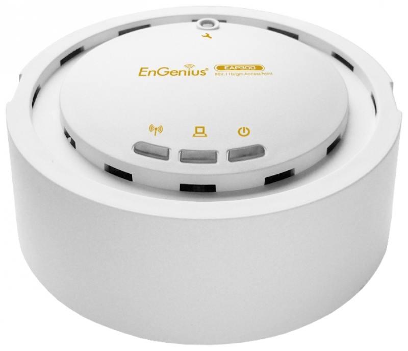 Точка доступа EnGenius EAP300 802.11n 300Mbps 2.4 ГГц wi fi точка доступа engenius ecb350 ecb350