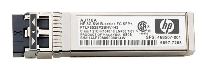 Трансивер HP MSA 2040 8Gb SW FC SFP 4 Pk C8R23A hp hp msa 2040 m0t60a