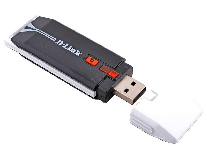 Беспроводной USB адаптер D-LINK DWA-140 802.11n 300Mbps 2.4ГГц 18dBm wi fi адаптер d link dwa 131 e1a
