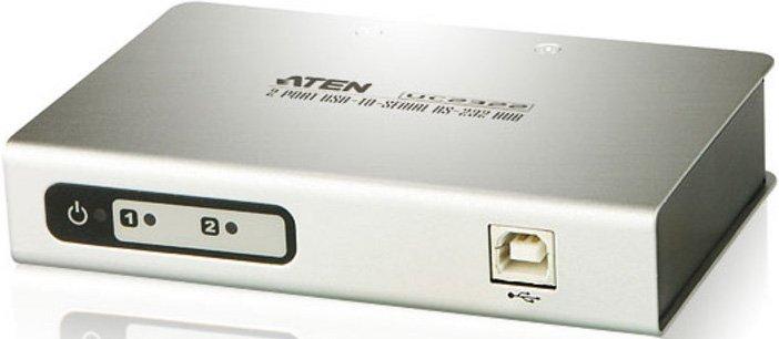 Конвертер Aten UC2322 конвертер aten ic485sn rs232c to rs485 rs422