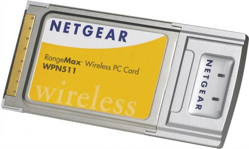 Беспроводной PCMCIA адаптер Netgear WPN511-100EES netgear gsm7328fs