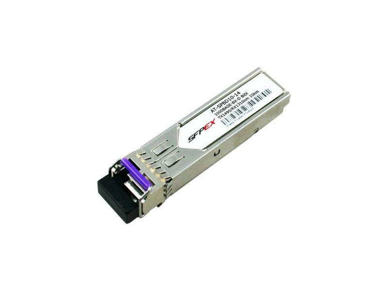 Модуль Allied Telesis AT-SPBD10-14 10km Bi-Directional GbE SMF SFP 1490Tx/1310Rx - Hot Swappable