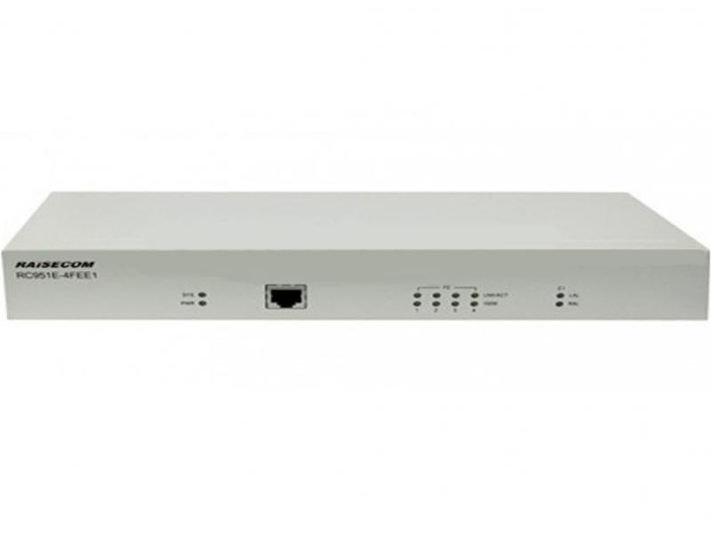 Мультиплексор Raisecom Standalone Ethernet Demarcation Device RC951E-4FEE1-WP