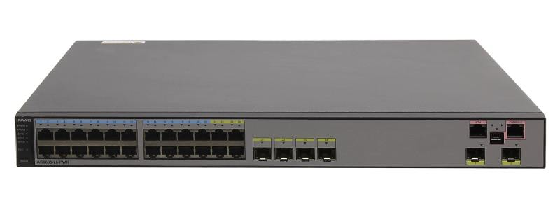 Коммутатор Huawei AC6605-26-PWR-16AP 24 порта 10/100/1000Mbps коммутатор zyxel gs1100 16 gs1100 16 eu0101f