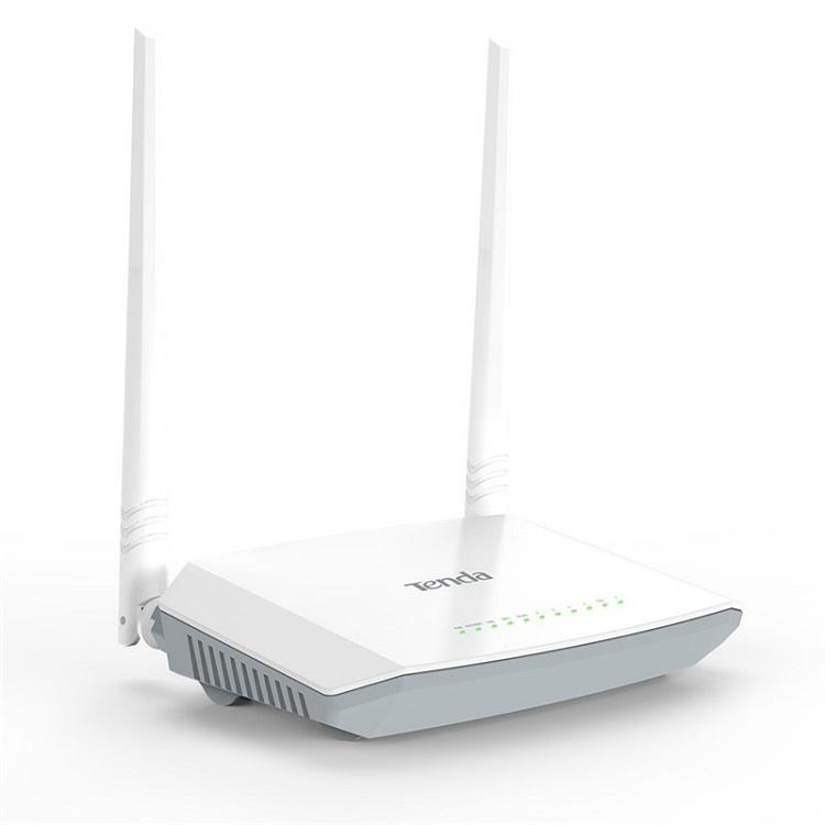 Картинка для Беспроводной маршрутизатор ADSL Tenda D301 802.11n 300Mbps 2.4ГГц 4xLAN