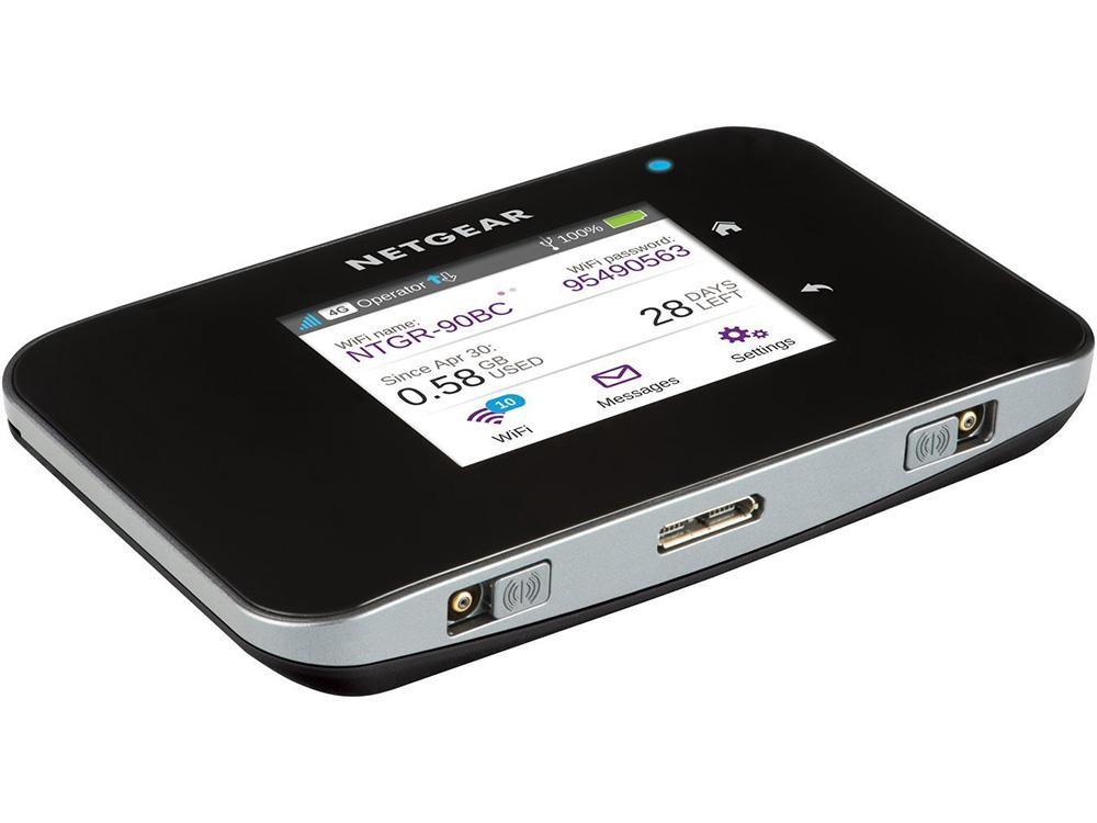 Точка доступа NETGEAR AC810-100EUS Мобильная точка доступа Wi-Fi (хотспот) AC1200 2G/3G/4G/LTE, WiFi 802.11b/g/n/ac 1200 Мбит/с (2
