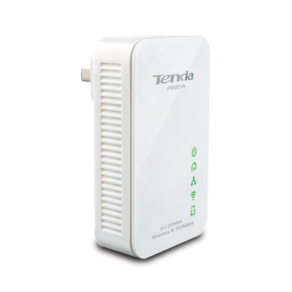 Адаптер PowerLine Tenda PW201A+P200 N300 комплект адаптеров PowerLine c Wi-Fi