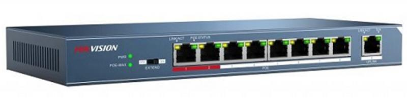Коммутатор Hikvision Hikvision DS-3E0109P-E 9-ports 10/100Mbps от OLDI