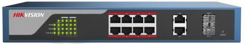 Коммутатор Hikvision DS-3E1310P-E 10-ports 10/100Mbps от OLDI