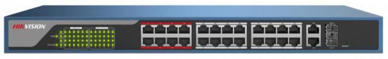 Коммутатор Hikvision DS-3E1326P-E 24-ports 10/100Mbps от OLDI