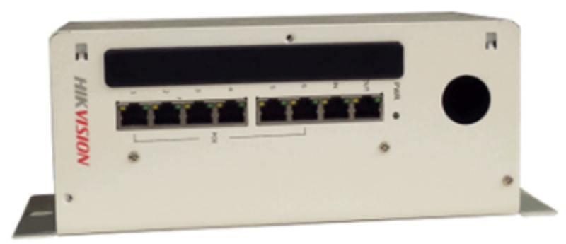 Коммутатор Hikvision DS-KAD606 8 портов коммутатор hikvision ds 3d2208p