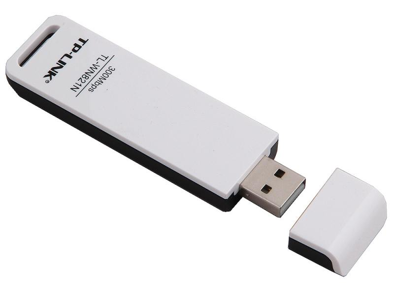 Беспроводной USB адаптер TP-LINK TL-WN821N 802.11n 300Mbps 2.4ГГц 20dBm